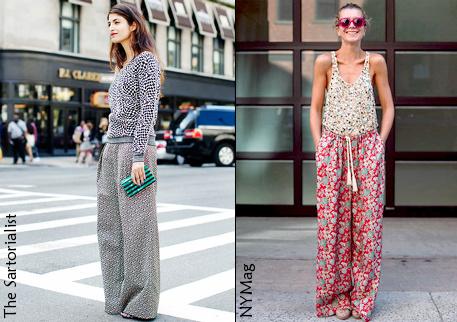 Модный тренд 2012: широкие брюки рекомендации