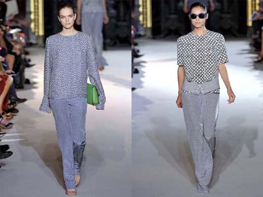 Модный тренд 2012: широкие брюки изоражения