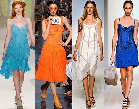 Платья с завышенной талией ультрамодно и комфортно - много