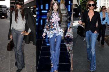 Тенденции весна-лето 2015: с чем носить широкие джинсы (фото)