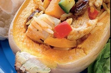 Блюдо сентября: фаршированная тыква