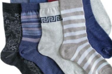 От простуды помогут носки