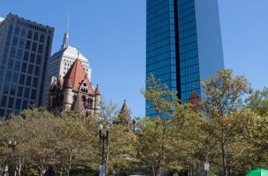 Америка: осень в Бостоне (ФОТО)
