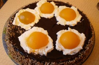 Новогодний торт  «Яичница»