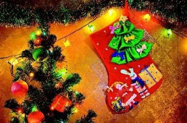Как сделать сапожок для подарков (ФОТО)
