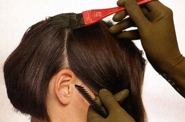 Окрашивание волос вредит печени
