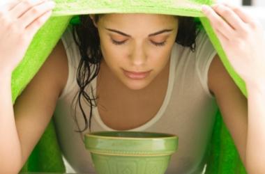 Паровые ванночки для лица с летними травами