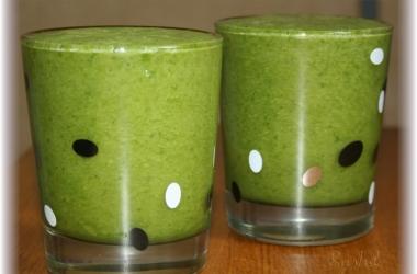 Зеленый оздоровительный коктейль