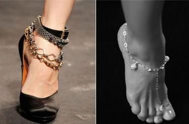 Летние украшения для ног