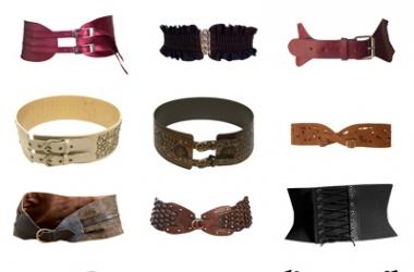 Модные ремни - тренд 2011 года