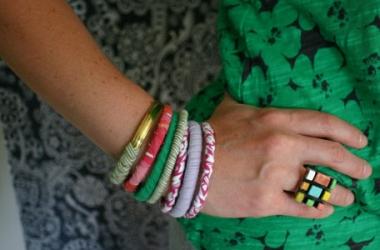 Модные браслеты из ткани своими руками: мастер-класс