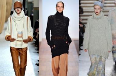 Модные свитера - 2011-2012 (фото)