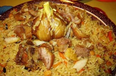 Правильный узбекский плов: рецепт