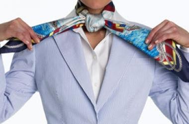 10 способов завязывать шарф: мастер-класс