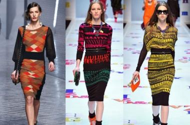 В моде - вязаная одежда (ФОТО)