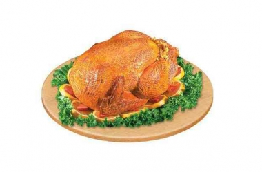 Курица с зеленью. Рецепт