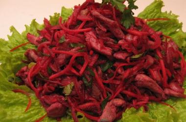 Новогодний стол: салат