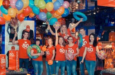 В центре Киева провели яркую кампанию #SeminakedSummer Edition!