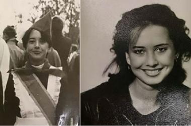 Школьные фото Жанны Фриске показала ее одноклассница