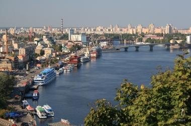 Осенний Киев с высоты птичьего полета: смотри, какая красивая у нас столица! (видео)