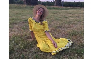 Катя Осадчая решила стать брюнеткой: телеведущей идет новый образ