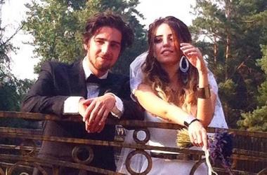 Надя Дорофеева и Владимир Дантес сыграли свадьбу в разгар лета