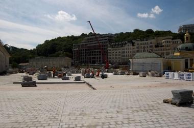 Почтовую площадь в Киеве откроют ко Дню Независимости