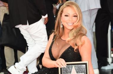 Мэрайя Кэри получила звезду на Аллее славы в Голливуде (фото)