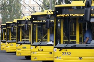 Как будут ездить троллейбусы и маршрутки в Киеве в День Независимости