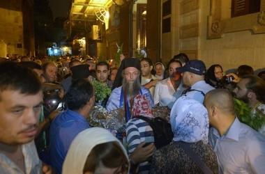 В Иерусалиме начали праздновать Успение Пресвятой Богородицы (фото)