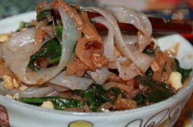 Рецепт дня с Ширатаки: Fettuccine со шпинатом (пошаговый рецепт с фото)