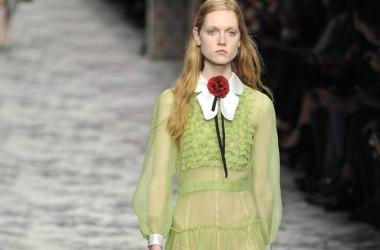 Мода весна-лето 2016: Gucci - все модные цвета сезона в одной коллекции на Неделе Моды в Милане (фото)