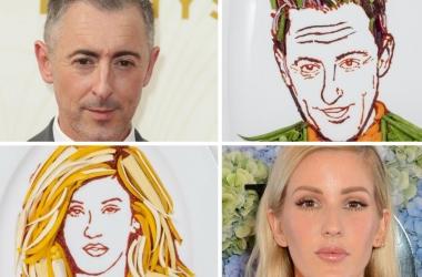 Звезды на блюдечке: британка Пруденс Стейт сделала портреты знаменитостей из овощей - невероятно похоже на оригиналы!
