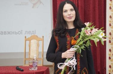 Влада Литовченко провела мастер-класс