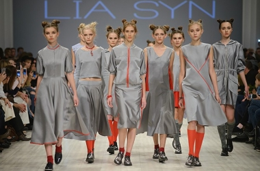 Ukrainian Fashion Week 2015: микс спортивного стиля и классики в коллекции дизайнера Lia Syn (фото)