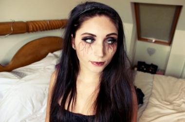 Хэллоуин 2015: макияж вампира в стиле
