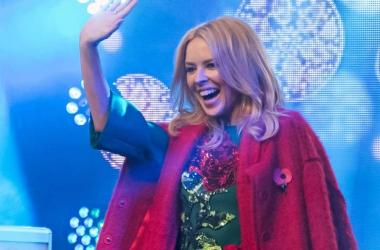 Кайли Миноуг включила Рождество 2015 в Лондоне: роскошная презентация нового альбома (фото, видео)