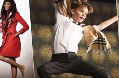 Ромео Бекхэм, Наоми Кемпбэлл и Элтон Джон в рождественской рекламе Burberry: видео взорвало сеть (фото, видео)