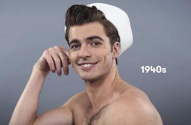 От кока до ирокеза: как менялись мужские прически за последние 100 лет (фото, видео)