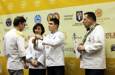 Шеф-повара ресторана Царьград получил медаль и диплом на  Международном кулинарном фестивале BESTCookFEST-2015 (фото)