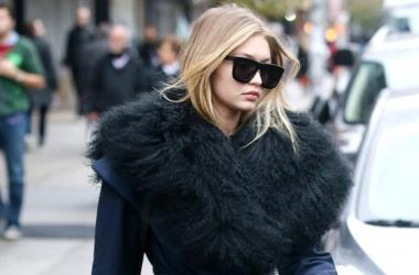 Пальто с меховым воротником - тренд осень зима 2015 2016: как это носят звезды (фото)