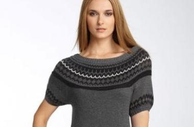 Как правильно выбрать платье-свитер?