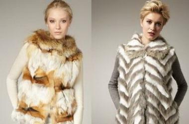 Меховые аксессуары: шарфы, снуды, воротники
