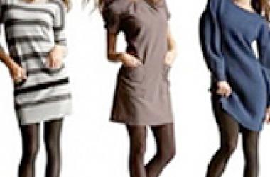 Мини платье: как и с чем носить