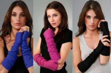 Длинные женские перчатки без пальцев: экстравагантная мода на каждый день