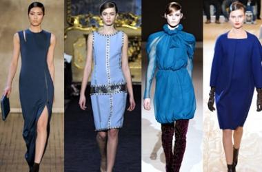 Самый модный цвет зимы 2013: синий (фото)