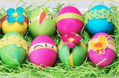 Пасха: идеи для декора яиц (фото)