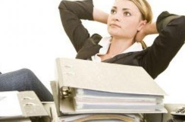 Офисная зарядка: разминаем шею, спину, плечи и поясницу