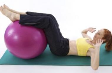 Комплекс несложных полезных упражнений для спины и пресса