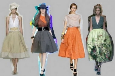 Модные юбки 2013 (фото)